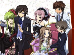Rating: Safe Score: 26 Tags: anya_alstreim c.c. code_geass dress ishida_kana kururugi_suzaku lelouch_lamperouge nunnally_lamperouge rollo_lamperouge User: admin2