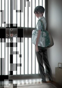 Rating: Safe Score: 10 Tags: free! hana_bell_forest high_speed! male nanase_haruka seifuku User: kunkakun