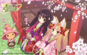 Rating: Safe Score: 24 Tags: animal_ears broccoli emil_chronicle_online kimono kitsune tagme tail wallpaper User: fairyren