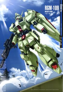 Rating: Safe Score: 10 Tags: arisawa_hiroshi gun gundam gundam_f91 mecha User: drop