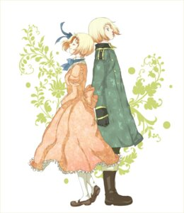 Rating: Safe Score: 9 Tags: dress hetalia_axis_powers kotokoto liechtenstein switzerland User: yumichi-sama