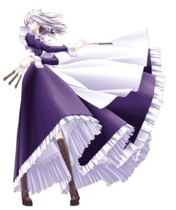 Rating: Safe Score: 11 Tags: izayoi_sakuya maid shachiku touhou User: charunetra