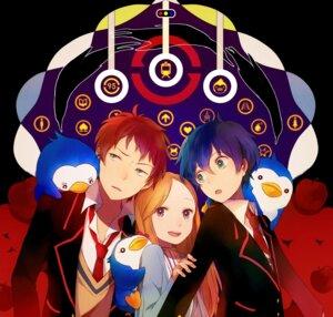 Rating: Safe Score: 10 Tags: mawaru_penguindrum penguin takakura_himari takakura_kanba takakura_shouma tsuyu User: Nekotsúh