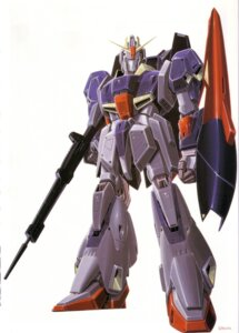 Rating: Safe Score: 3 Tags: gundam mecha okawara_kunio zeta_gundam User: Radioactive