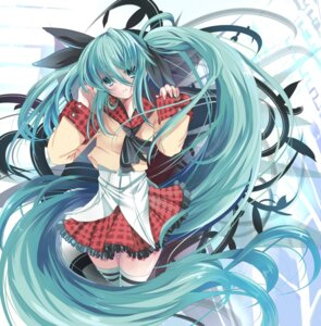 Rating: Safe Score: 42 Tags: hatsune_miku thighhighs vocaloid xephonia User: charunetra