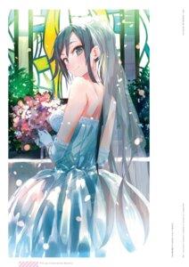 Rating: Safe Score: 16 Tags: dress ponkan_8 wedding_dress yahari_ore_no_seishun_lovecome_wa_machigatteiru. User: fireattack