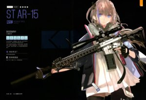Rating: Questionable Score: 11 Tags: girls_frontline gun lin+ st_ar-15_(girls_frontline) thighhighs User: Radioactive