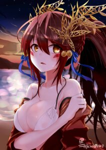 Rating: Questionable Score: 68 Tags: bikini_top cleavage khibiki_(brequiem) kurokawa_hibiki open_shirt puzzle_&_dragons signed tsubaki_(puzzle_&_dragons) User: mash