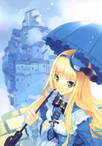 Rating: Safe Score: 41 Tags: alice alice_in_wonderland dress fancy_fantasia lolita_fashion ueda_ryou User: fireattack