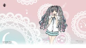 Rating: Safe Score: 31 Tags: hatsune_miku kamijou_eri vocaloid wallpaper User: ayura97