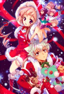 Rating: Safe Score: 11 Tags: animal_ears christmas hiyoko_kozue nekomimi shouoto_aya s.l.h-stray_love_hearts uegaito_miki User: melfra