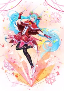 Rating: Safe Score: 22 Tags: christmas hatsune_miku mr._j.w pantyhose vocaloid weapon User: Mr_GT