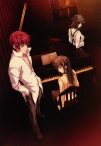 Rating: Safe Score: 21 Tags: kudou_sousuke pianissimo shirakawa_ayane sugina_miki tachibana_mikage thighhighs User: Share