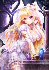 Rating: Safe Score: 83 Tags: cleavage dress linia_pacifica lunacle see_through stockings sword_girls thighhighs wedding_dress User: Mr_GT