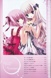 Rating: Safe Score: 15 Tags: hiiragi_miu lolita_fashion meari tinkle tsukiyo_no_fromage User: Radioactive
