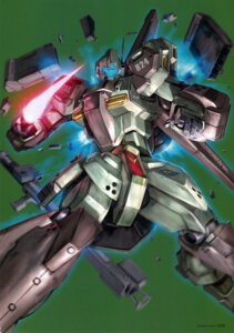 Rating: Safe Score: 11 Tags: gundam gundam_unicorn mecha morishita_naochika stark_jegan User: DDD