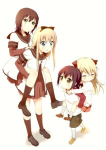 Rating: Safe Score: 26 Tags: baka_neko funami_yui seifuku toshinou_kyouko yuru_yuri User: Radioactive