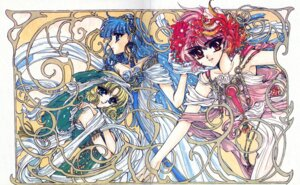 Rating: Safe Score: 7 Tags: clamp crease hououji_fuu magic_knight_rayearth ryuuzaki_umi shidou_hikaru User: Radioactive