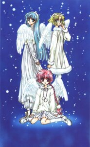 Rating: Safe Score: 8 Tags: clamp hououji_fuu magic_knight_rayearth ryuuzaki_umi shidou_hikaru User: WhiteExecutor