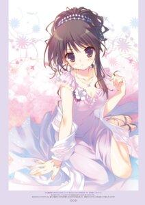 Rating: Safe Score: 87 Tags: cleavage digital_version dress heels santa_matsuri User: Twinsenzw