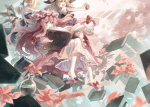 Rating: Safe Score: 25 Tags: alice_margatroid asuka_(louyun) kirisame_marisa patchouli_knowledge touhou User: dyj