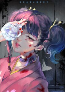 Rating: Safe Score: 30 Tags: blood kimono koutetsujou_no_kabaneri mumei pudding_(artist) User: Mr_GT