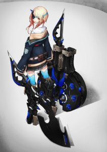 Rating: Safe Score: 47 Tags: eyepatch mecha_musume thighhighs yucca-612 User: Radioactive