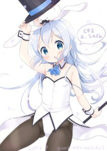 Rating: Safe Score: 46 Tags: animal_ears bunny_ears bunny_girl gochuumon_wa_usagi_desu_ka? kafuu_chino pantyhose waki_(pixiv2609622) User: saemonnokami