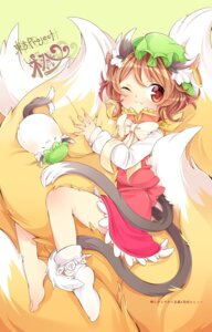 Rating: Safe Score: 24 Tags: animal_ears chen ibarashiro_natou tail touhou User: Mr_GT