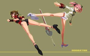 Rating: Questionable Score: 19 Tags: god_eater mokke_(artist) pantsu string_panties User: Lord_Satorious