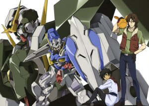 Rating: Safe Score: 5 Tags: gundam gundam_00 gundam_dynames gundam_exia haro lockon_stratos male mecha neil_dylandy setsuna_f_seiei sword User: Radioactive