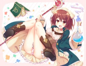 Rating: Questionable Score: 95 Tags: atelier_sophie dress kusunoki_(escude) pantsu sophie_neuenmuller weapon User: Mr_GT