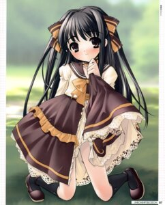 Rating: Safe Score: 26 Tags: dress ito_noizi komorebi_ni_yureru_tama_no_koe skirt_lift sui User: crim