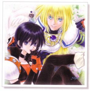 Rating: Safe Score: 2 Tags: inomata_mutsumi rutee_katret stan_aileron tales_of tales_of_destiny User: Radioactive