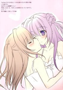 Rating: Safe Score: 23 Tags: cleavage matsurija nanaroba_hana yuri User: donicila