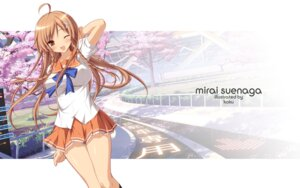 Rating: Safe Score: 30 Tags: culture_japan koku seifuku suenaga_mirai User: mathemagic