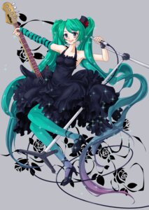 Rating: Safe Score: 17 Tags: cosplay gothic_lolita hatsune_miku k-on! lilith_bloody lolita_fashion pantyhose vocaloid User: yumichi-sama