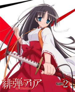 Rating: Questionable Score: 27 Tags: disc_cover hidan_no_aria hotogi_shirayuki iwakura_kazunori miko User: fireattack