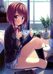 Rating: Questionable Score: 89 Tags: pantsu seifuku yamakaze_ran User: crim