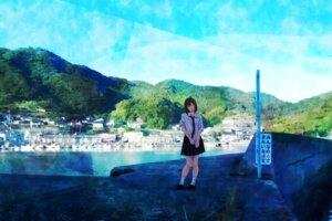 Rating: Safe Score: 18 Tags: landscape seifuku tagme User: saemonnokami