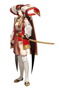 Rating: Safe Score: 10 Tags: japanese_clothes keemu_(occhoko-cho) sword thighhighs User: Dreista
