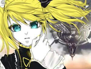 Rating: Safe Score: 2 Tags: kagamine_rin meltdown_(vocaloid) taiyou_araiguma vocaloid User: charunetra