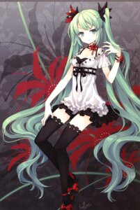 Rating: Safe Score: 87 Tags: hatsune_miku screening tearfish thighhighs vocaloid winter_forest world_is_mine_(vocaloid) User: EmilyRainsworth