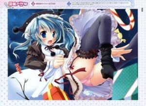 Rating: Questionable Score: 32 Tags: christmas izumi_tsubasu pantsu stockings thighhighs User: midzki