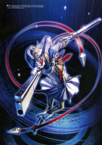 Rating: Safe Score: 20 Tags: blazblue gun hiroe_rei noel_vermillion uniform User: drop