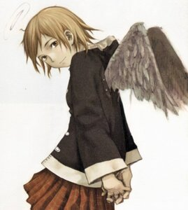 Rating: Safe Score: 4 Tags: abe_yoshitoshi haibane_renmei rakka wings User: Davison