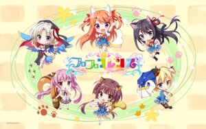 Rating: Safe Score: 25 Tags: adelheid_von_bergstrasse animal_ears aoi_suu chibi cleavage floral_flowlove kemono_friends mihato_kano nekomimi nun pantyhose parody saga_planets saisu_riku seifuku tail thighhighs tokisaka_nanao tsubaki_kohane umbrella wallpaper wings yuzuki_gao User: moonian