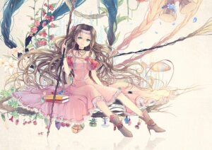 Rating: Safe Score: 32 Tags: aerith_gainsborough dress final_fantasy final_fantasy_vii kieta User: fairyren