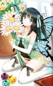Rating: Safe Score: 221 Tags: binding_discoloration cleavage dress fairy pantsu peace_keeper_daisy see_through thighhighs tony_taka wings User: donicila