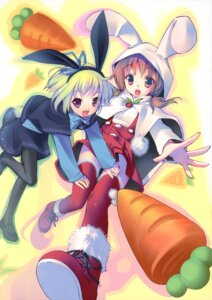 Rating: Safe Score: 26 Tags: animal_ears bunny_ears kogemashita pantyhose takoyaki thighhighs User: fireattack